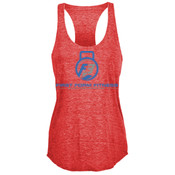 F3 Blue Logo Women's Tri-Blend Tank Top